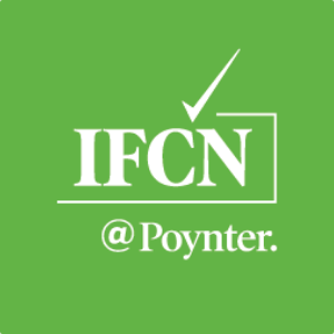 Logo della IFCN - International Fact-Checking Network
